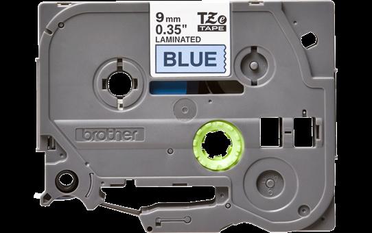 Cassetta nastro per etichettatura originale Brother TZe-521 – Nero su blu, 9 mm di larghezza