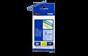 Genuine Brother TZe-521 Labelling Tape Cassette – Black on Blue, 9mm wide 3