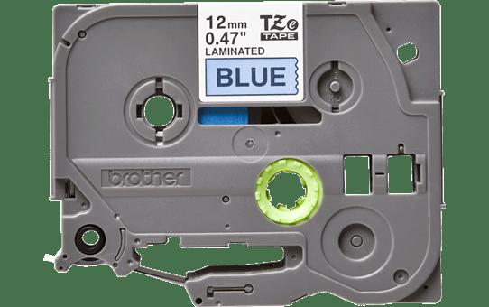 Original Brother TZe531 merketape – sort på blå, 12 mm bred 3