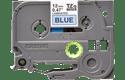 Oriģinālā Brother TZe531 melnas drukas zila uzlīmju lentes kasete, 12mm plata 2