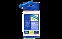 Oriģinālā Brother TZe535 baltas drukas zila uzlīmju lentes kasete, 12mm plata 3