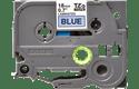 Oriģinālā Brother TZe541 melnas drukas zila uzlīmju lentes kasete, 18mm plata 2