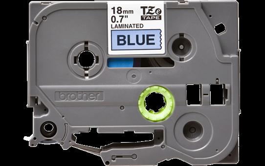 Originele Brother TZe-541 label tapecassette – zwart op blauw, breedte 18 mm 2