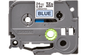 Cassetta nastro per etichettatura originale Brother TZe-551 – Nero su blu, 24 mm di larghezza