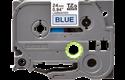 Originální kazeta s páskou Brother TZe-551 - černý tisk na modré, šířka 24 mm 2