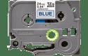 Original TZe-551 Schriftbandkassette von Brother – Schwarz auf Blau, 24mm breit 2