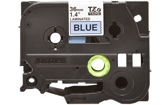 Alkuperäinen Brother TZe561 -tarranauha – musta teksti sinisellä pohjalla, 36 mm 2