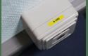 Originele Brother TZe-611 label tapecassette – zwart op geel, breedte 6 mm 4