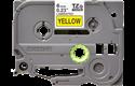 Cassetta nastro per etichettatura originale Brother TZe-611 – Nero su giallo, 6 mm di larghezza