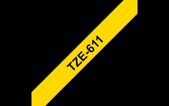 TZe-611 ruban d'étiquettes 6mm
