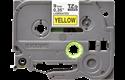 Casetă cu bandă de etichete originală Brother TZe-621 – negru pe galben, 9mm lățime 2