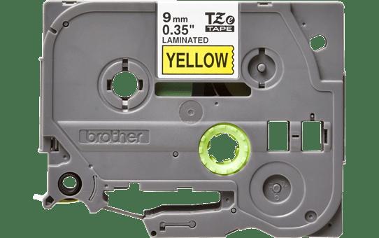 Cassette à ruban pour étiqueteuse TZe-621 Brother originale – Noir sur jaune, 9mm de large 2