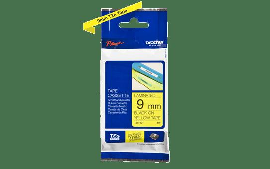 TZe-621 ruban d'étiquettes 9mm 3