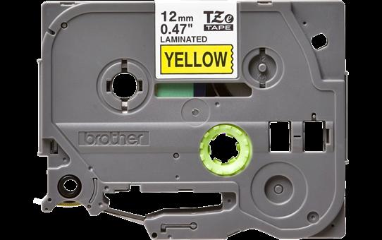 Originální kazeta s páskou Brother TZe-631 - černý tisk na žluté, šířka 12 mm 2