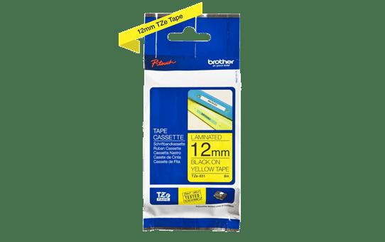 TZe-631 ruban d'étiquettes 12mm 3