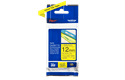 Ruban pour étiqueteuse TZe-631 Brother original – Noir sur jaune, 12mm de large 3