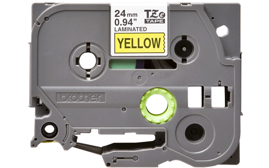 Originální kazeta s páskou Brother TZe-651 - černý tisk na žluté, šířka 24 mm 2
