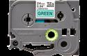 Casetă cu bandă de etichete originală Brother TZe-751 – negru pe verde, lățime de 24mm 2