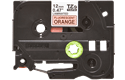 Original Brother TZe-B31 tape – neonorange, 12 mm bred 2