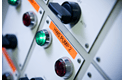 Original Brother TZeB51 tape – neonorange, 24 mm bred 4