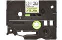 Genuine Brother TZe-C31 Labelling Tape Cassette – Fluorescent Yellow, 12mm wide 2