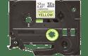 Original Brother TZeC31 tape – neongul, 12 mm bred 2