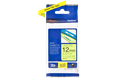 Genuine Brother TZe-C31 Labelling Tape Cassette – Fluorescent Yellow, 12mm wide 3