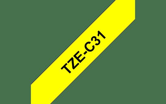 TZe-C31 labeltape 12mm