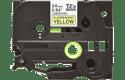 Originele Brother TZe-C51 label tapecassette – zwart op fluorescerend geel, breedte 24 mm 2