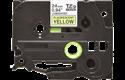 Original Brother TZeC51 merketape – sort på fluorescerende gul, 24 mm bred 2