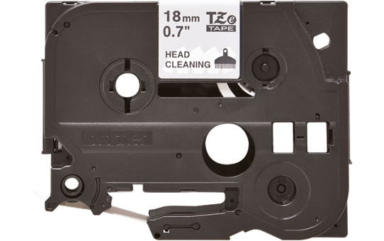 TZe-CL4 ruban pour nettoyage de tête d'impression 18mm
