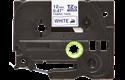 Alkuperäinen Brother TZeFA3 -kangastarranauha – sininen teksti valkoisella pohjalla, 12 mm 2