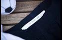 Brother TZe-FA4 Textil-Aufbügelband – blau auf weiß