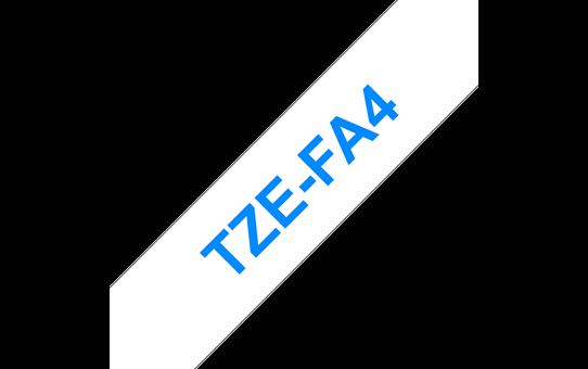TZe-FA4 ruban d'étiquettes textile 18mm