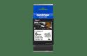 Cassette à ruban pour étiqueteuse TZe-FX211 Brother originale – Noir sur blanc, 6mm de large 3