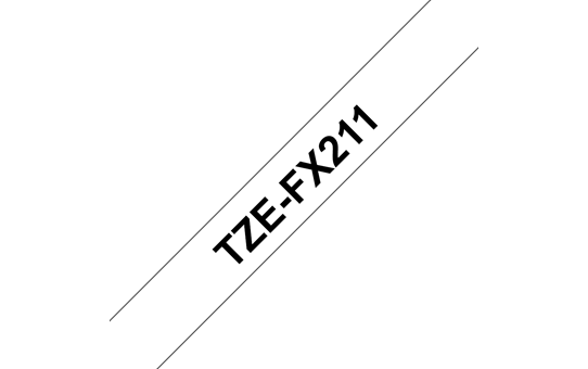 TZe-FX211 ruban d'étiquettes flexibles 6mm