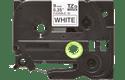 Brother TZeFX221: оригинальная лента для печати наклеек на принтере PTouch, черным на белом фоне, ширина: 9 мм.