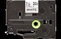 Originele Brother TZe-FX221 flexibele ID label tapecassette – zwart op wit, breedte 9 mm 2