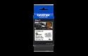 Brother TZeFX221 original etikettape, svart på vit, 9 mm  3