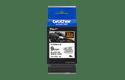 Original TZe-FX221 Flexi-Schriftbandkassette von Brother – Schwarz auf Weiß, 9mm breit 3