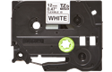 Genuine Brother TZe-FX231 Labelling Tape Cassette – Black on White, 12mm wide 2