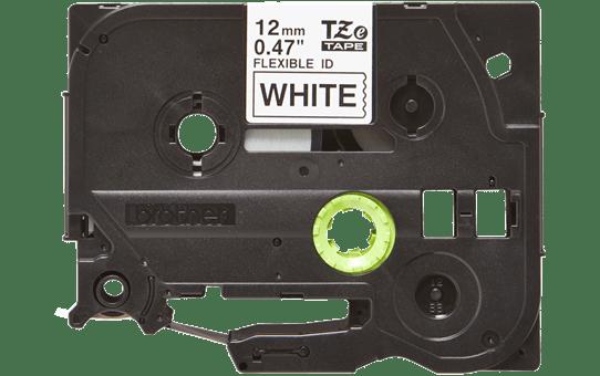 Originální kazeta s páskou Brother TZe-FX231 - černý tisk na bílé, šířka 12 mm 2