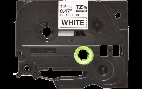 Cassette à ruban pour étiqueteuse TZe-FX231 Brother originale – Noir sur blanc, 12mm de large 2