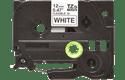 Brother TZe-FX231 - черен текст на бяла гъвгава лента, ширина 12mm 2