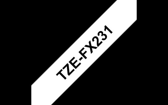 TZe-FX231 ruban d'étiquettes flexibles12mm