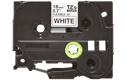 Genuine Brother TZe-FX241 Labelling Tape Cassette – Black on White Flexible-ID, 18mm wide 2