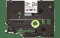 Originele Brother TZe-FX241 flexibele ID label tapecassette – zwart op wit, breedte 18 mm 2