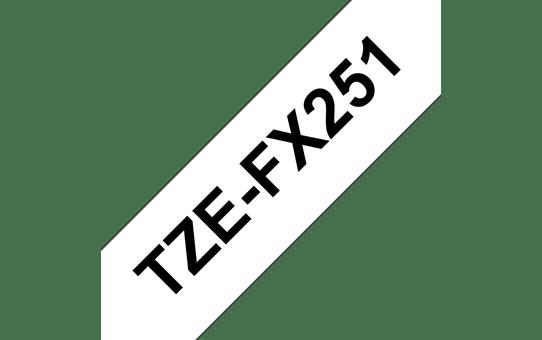 Originalna Brother TZe-FX251 kaseta s prilagodljivim ID-trakom za označevanje