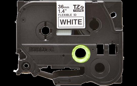 Brother TZeFX261 original etikettape, svart på vit, 36 mm 2