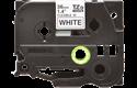 Oryginalna taśma identyfikacyjna Flexi ID TZe-FX261 firmy Brother – czarny nadruk na białym tle, 36mm szerokości 2